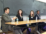 Four WCAS alumni who now practice law share with students their reasons for going to law school, choosing the type of law they practice and how their undergraduate degree prepared them for a career in law.
