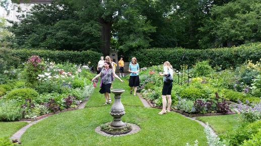 Northwesterns shakespeare garden