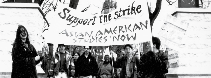 Picture of the Asian American studies strike.