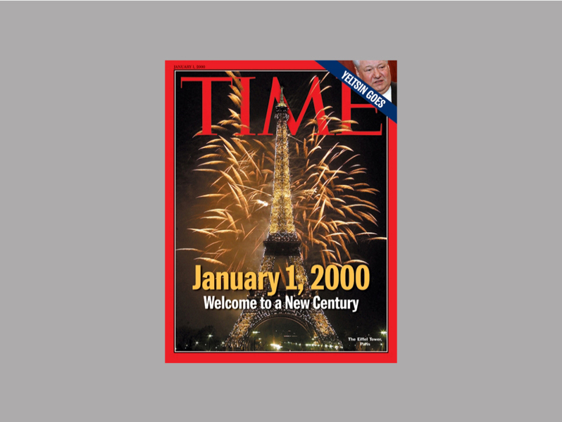 Time Magazine Cover on Jan.1, 2020